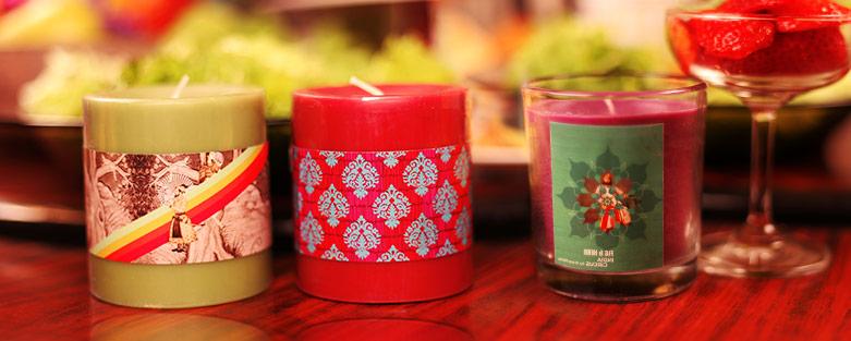 buy pillar candles and tea light holders online
