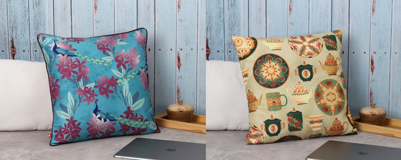 buy printed cushion covers online