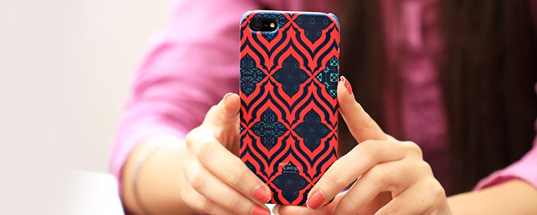Designer iPhone covers online