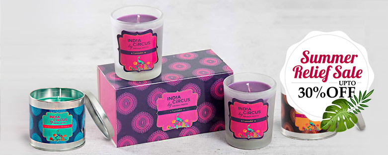 buy scented pillar candles and tea lights online