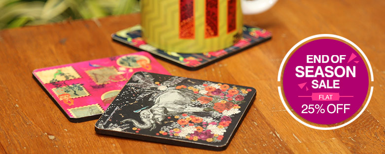 Buy Cup & Glass Coasters Online