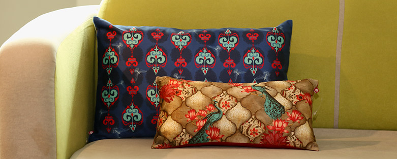 Buy Decorative Cushion Covers Online By India Circus Custom Load Pillow Covers