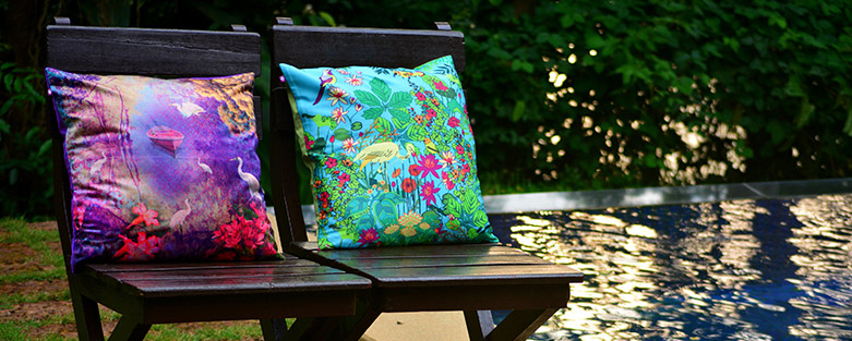 Buy Cushion Covers line Designer Sofa Cushion Covers India