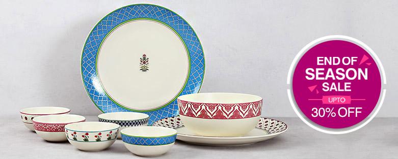 buy designer dinnerware and crockery online