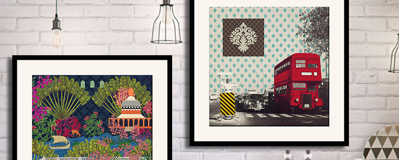 Framed Wall Arts & Buy Framed Wall Art Online - Indian Wall Paintings @ India Circus