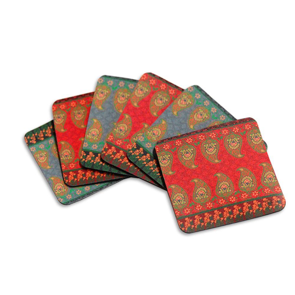 Tamara Swaying Rubber Coasters - (Set of 6)