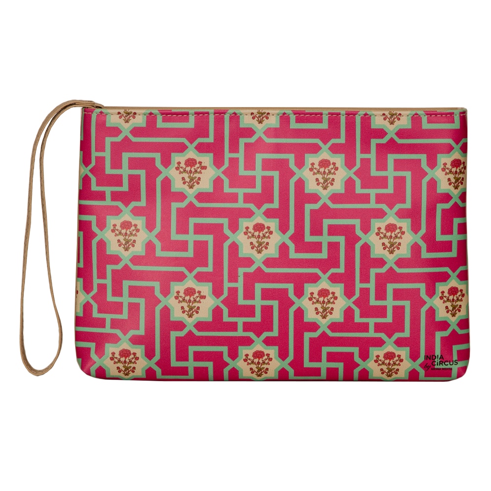 Maze of Flowers Utility Pouch