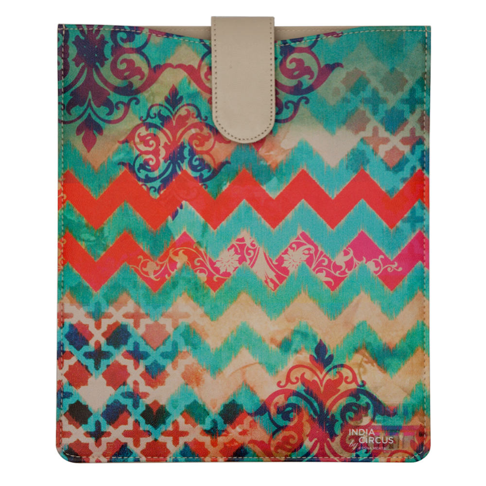 Colorful Streamer iPad Sleeve