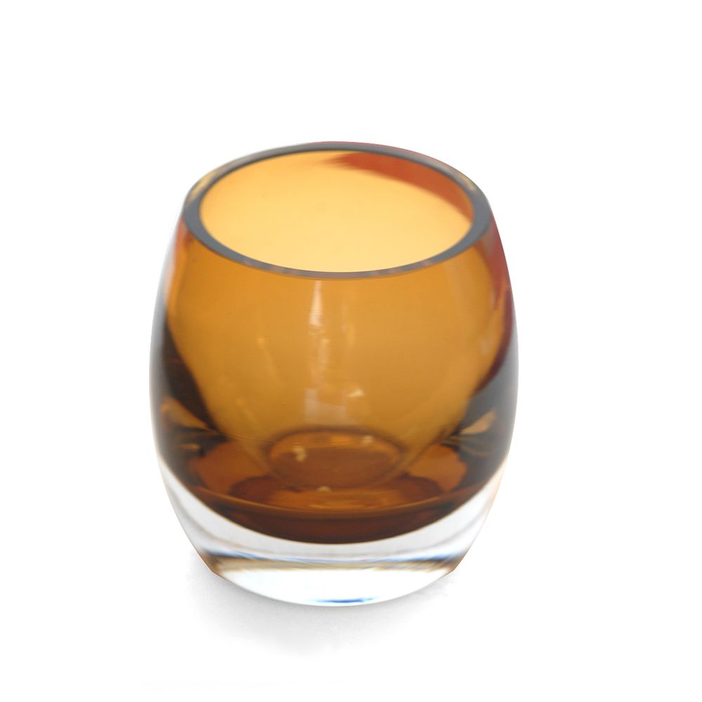 Multi Hue Amber T-Light Votive