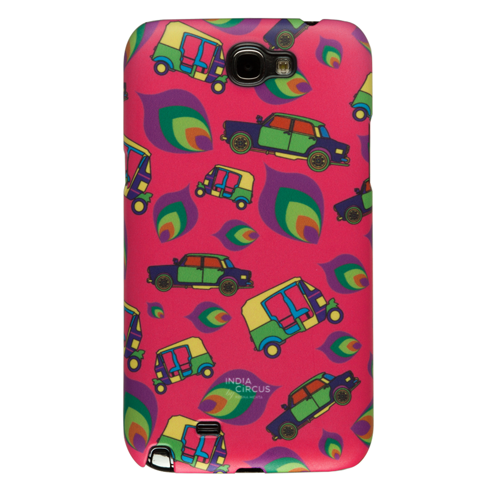 Funky Transport Samsung Note 2 Cover