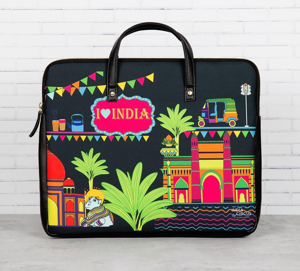 India Indulgence Laptop Bag