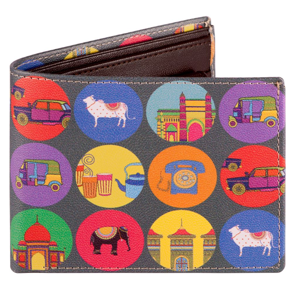 Polka Masti Men's Wallet