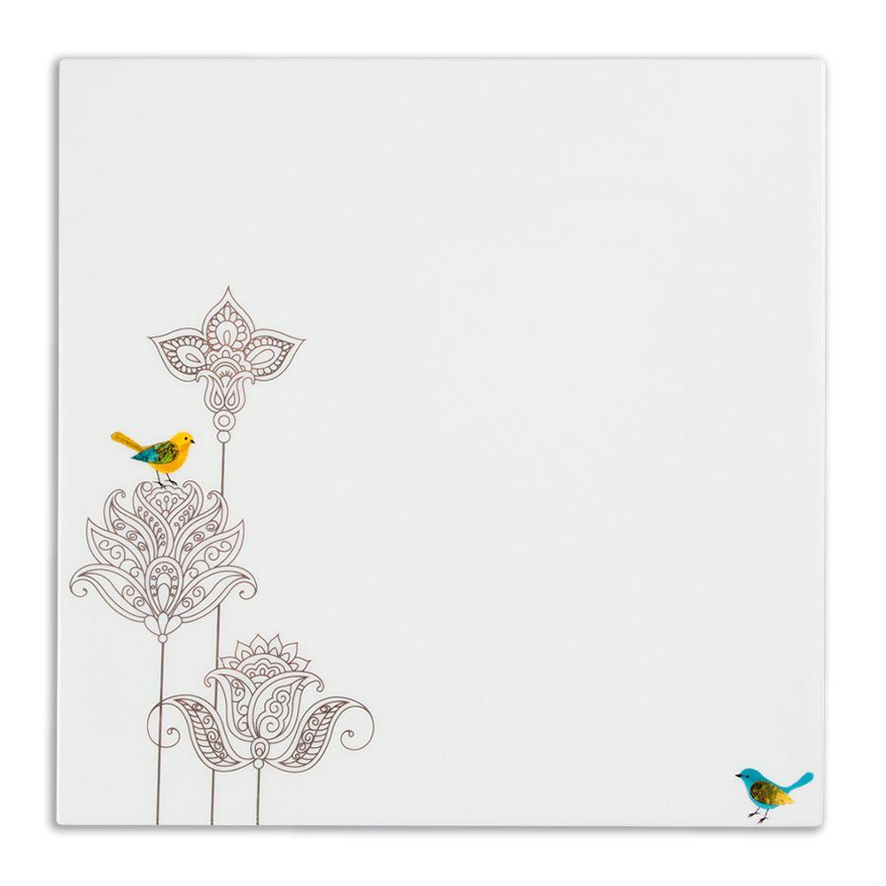 Floral Elegance Dinner Platter