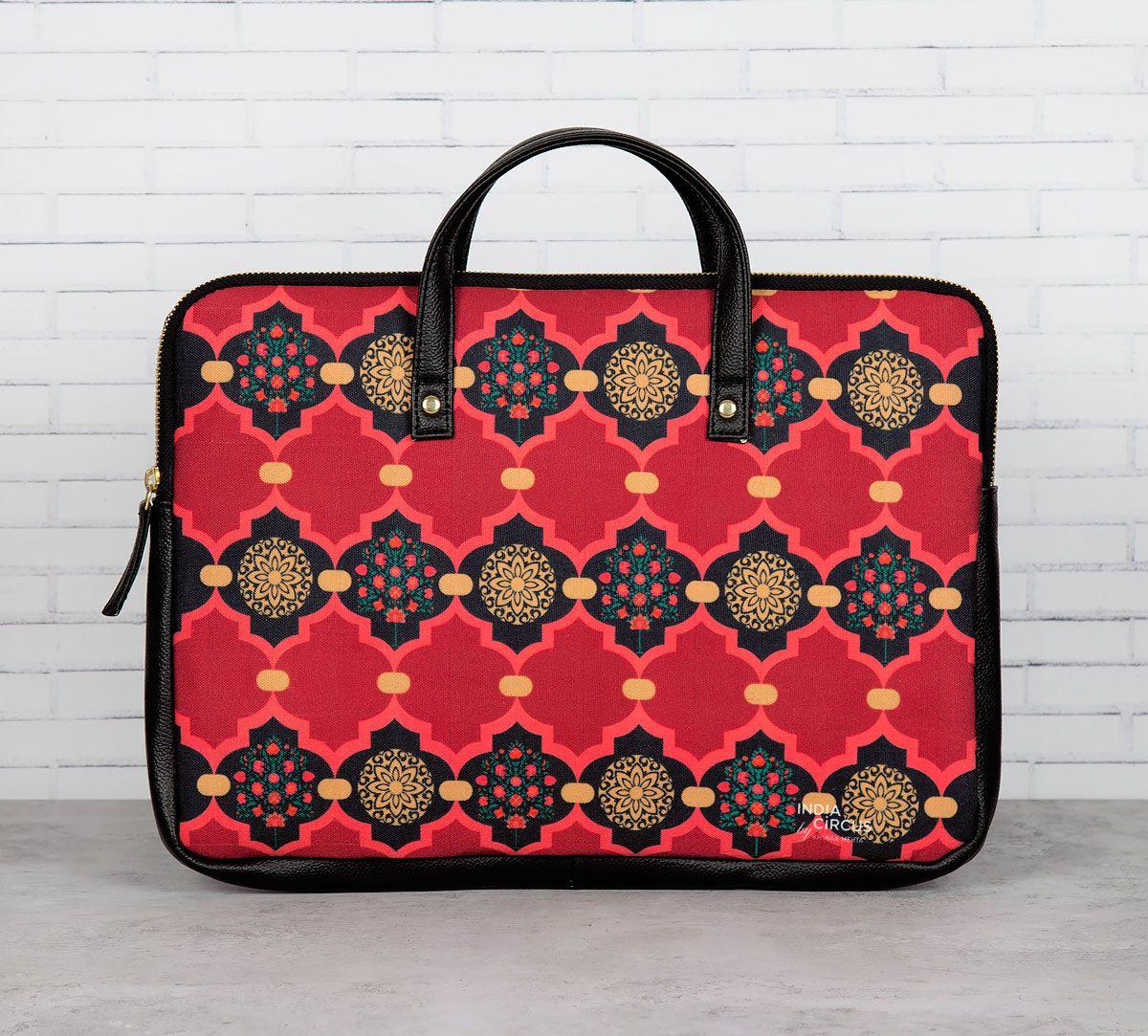 Latticed Synergy Laptop Bag