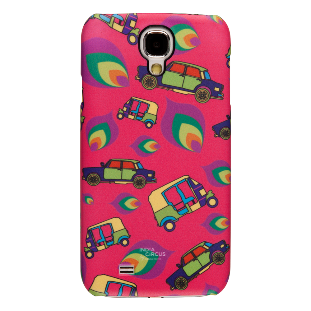 Funky Transport Samsung Galaxy S4 Cover