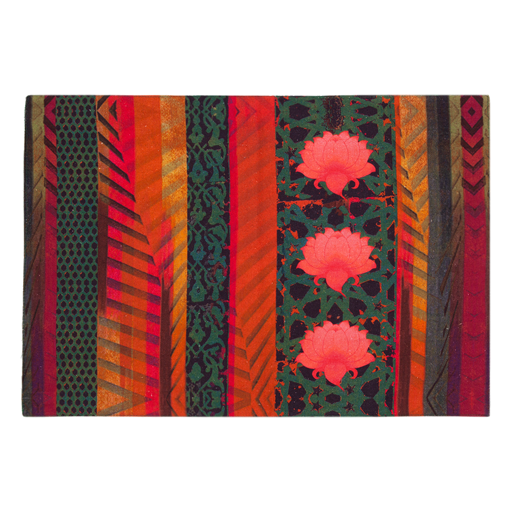 Flower Quill Table Mat & Napkin Set