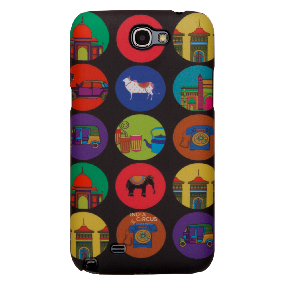 India Vibrant Samsung N2 Cover