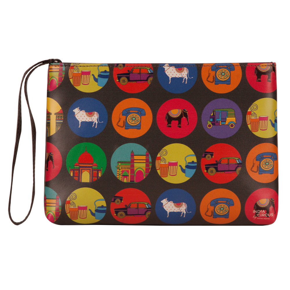 India Vibrant Utility Pouch