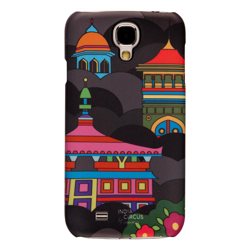 Namaste Black Sky-line Samsung Galaxy S4 Cover