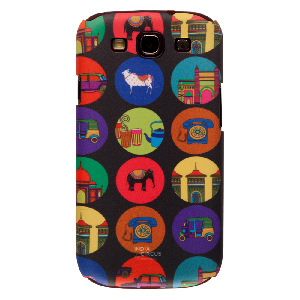 India Vibrant Samsung S3 Cover