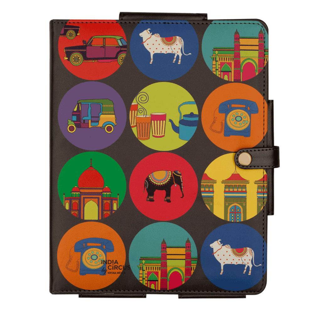 India Vibrant iPad Cover