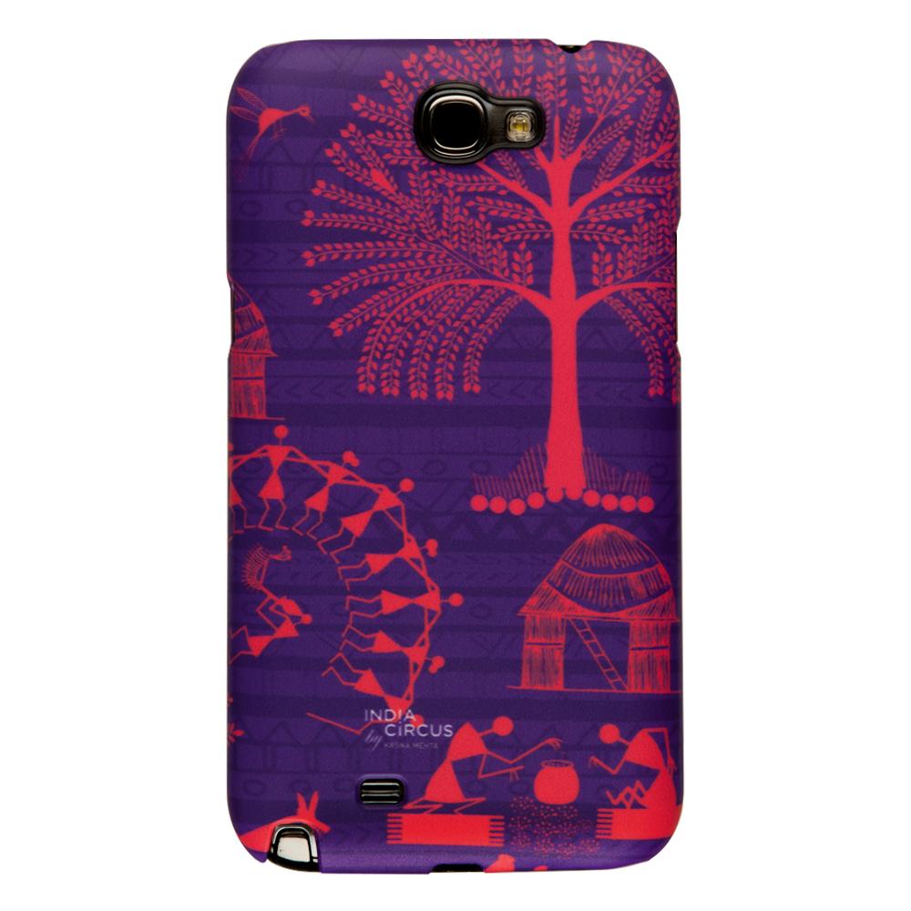 Warli Village Samsung Note 2 Cover