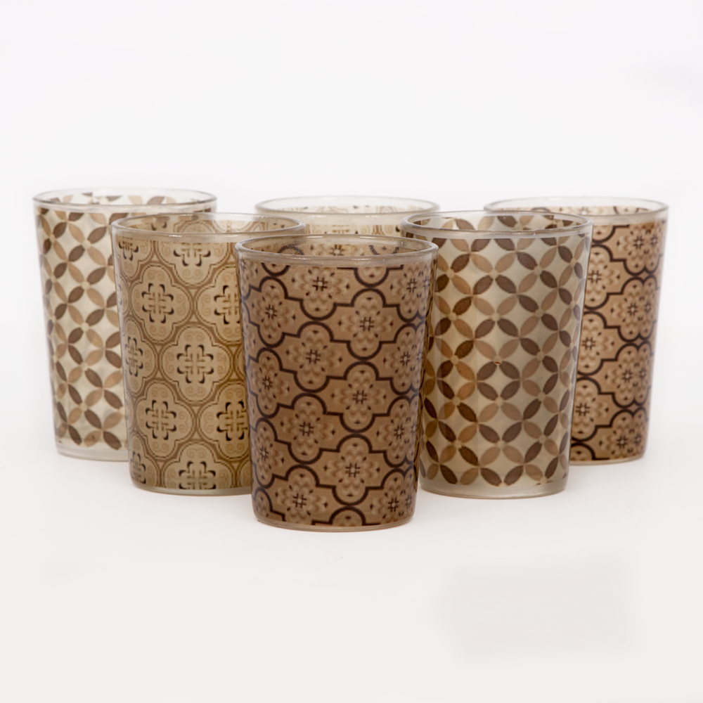 Mosaic Tapestry Moroccan Glasses