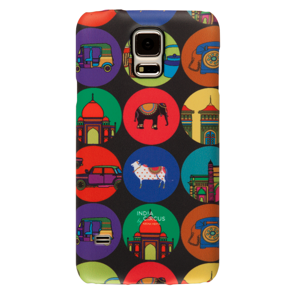 India Vibrant Samsung S5 Cover