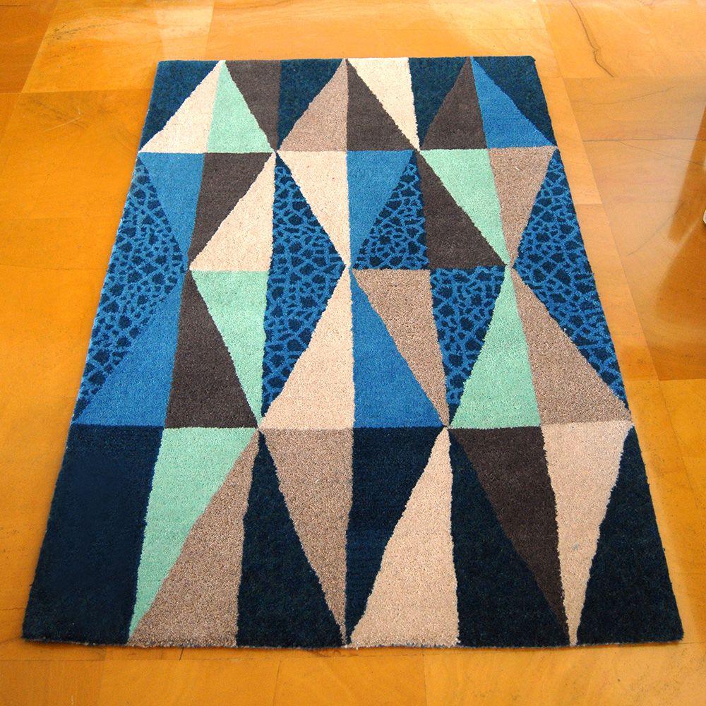 Blue Spectrum Rug