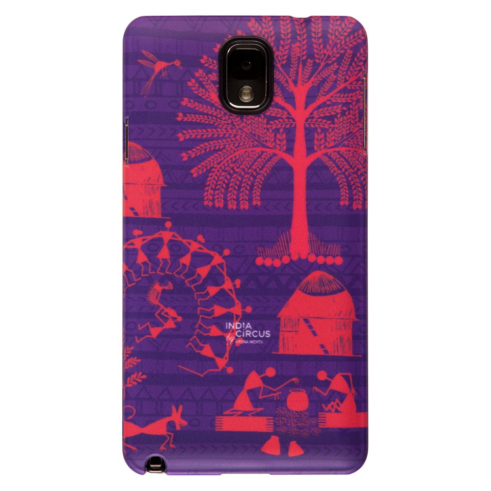 Warli Village Samsung N3 Cover