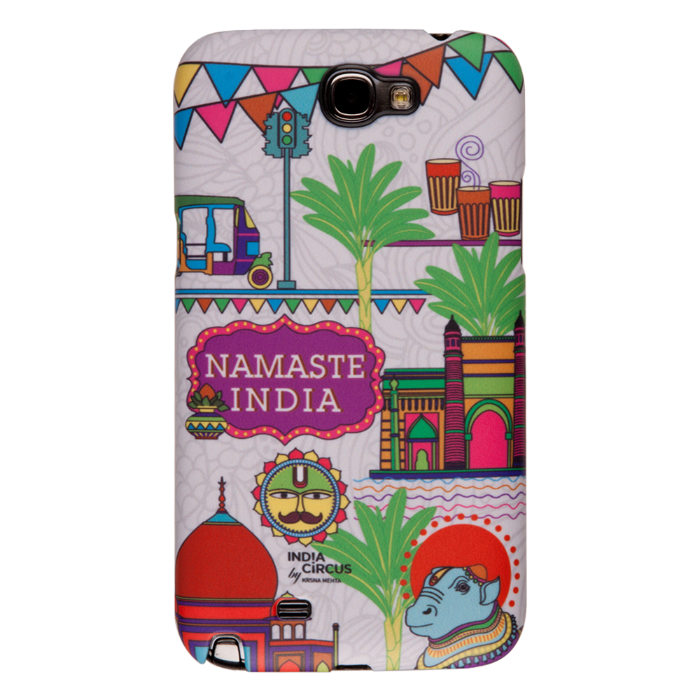 Namaste India Samsung Note 2 Cover