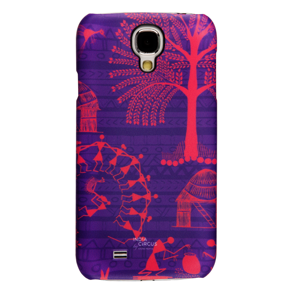 Warli Village Samsung Galaxy S4 Cover