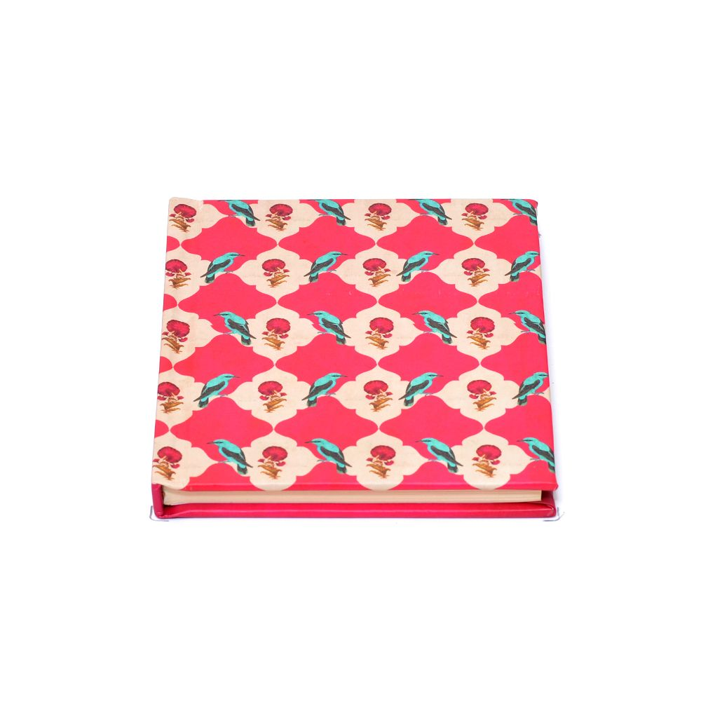 Floral Feather Notebook