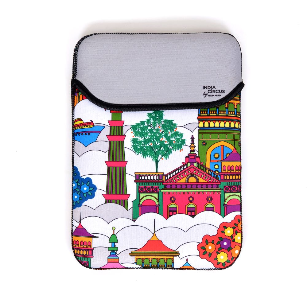 Jalebi Namaste Sky - line Mini iPad / Tablet Sleeve