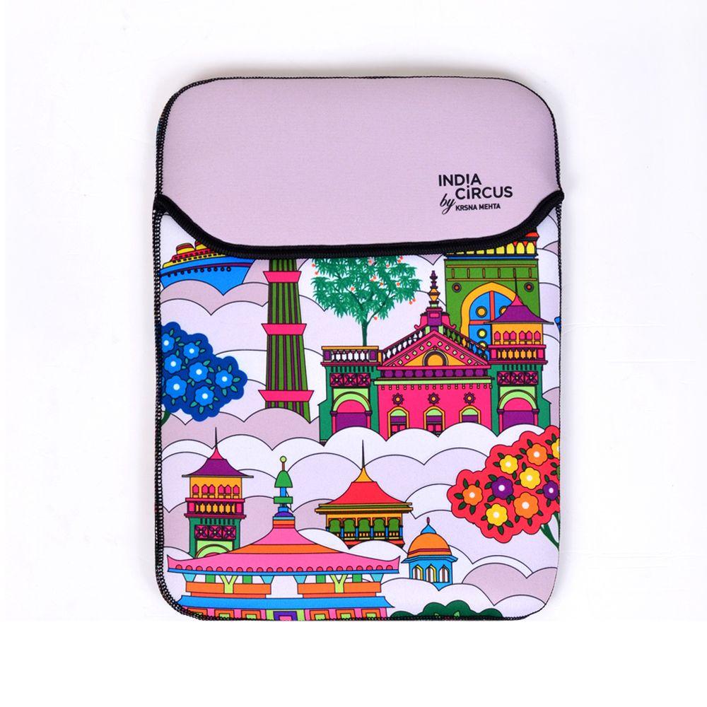 Jalebi Namaste Sky line iPad / Tablet Sleeve