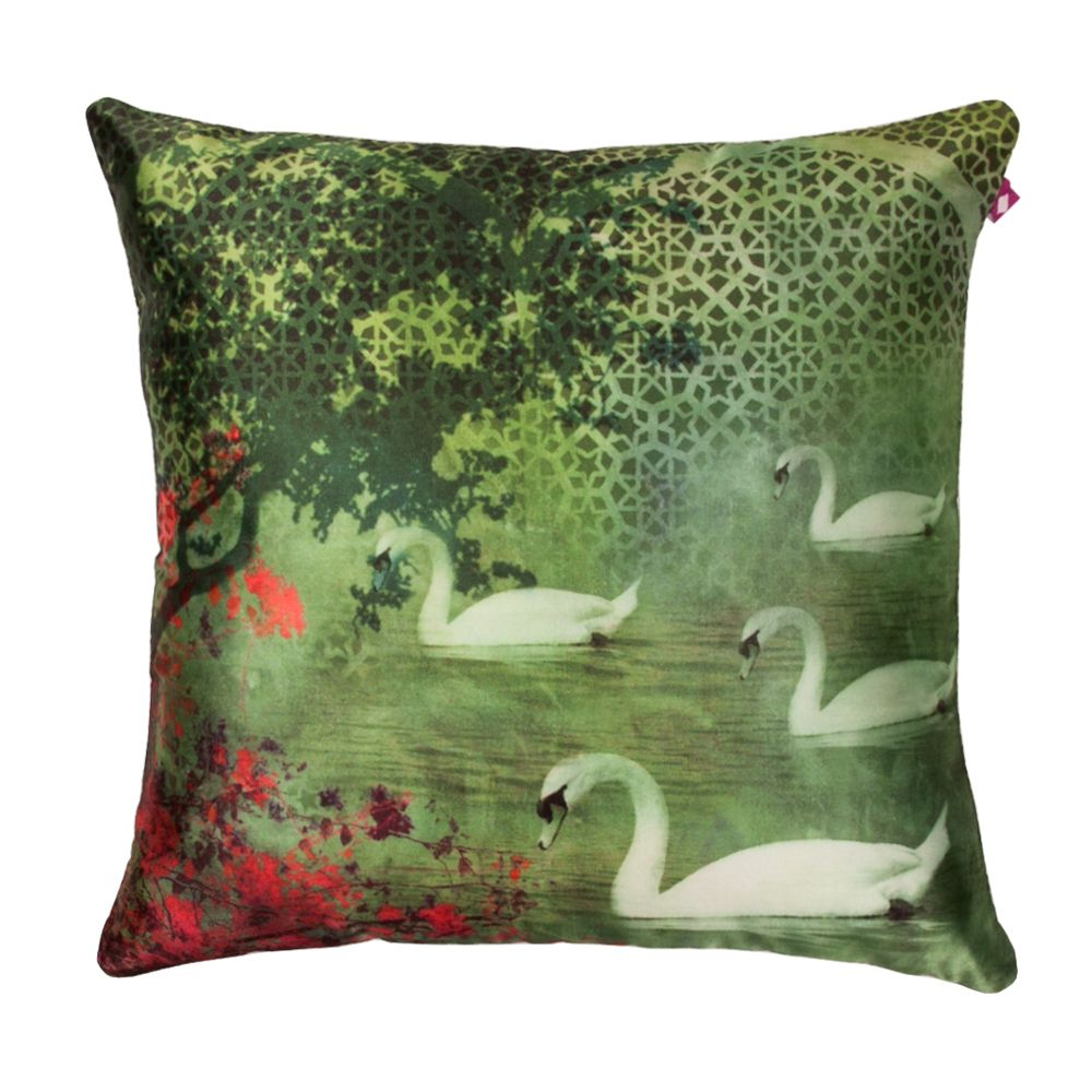 Enchanted Evening Poly Taf-Silk Cushion Cover