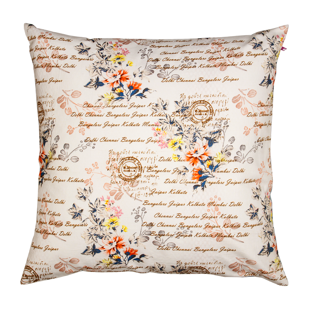 Flower Fall Cushion Cover