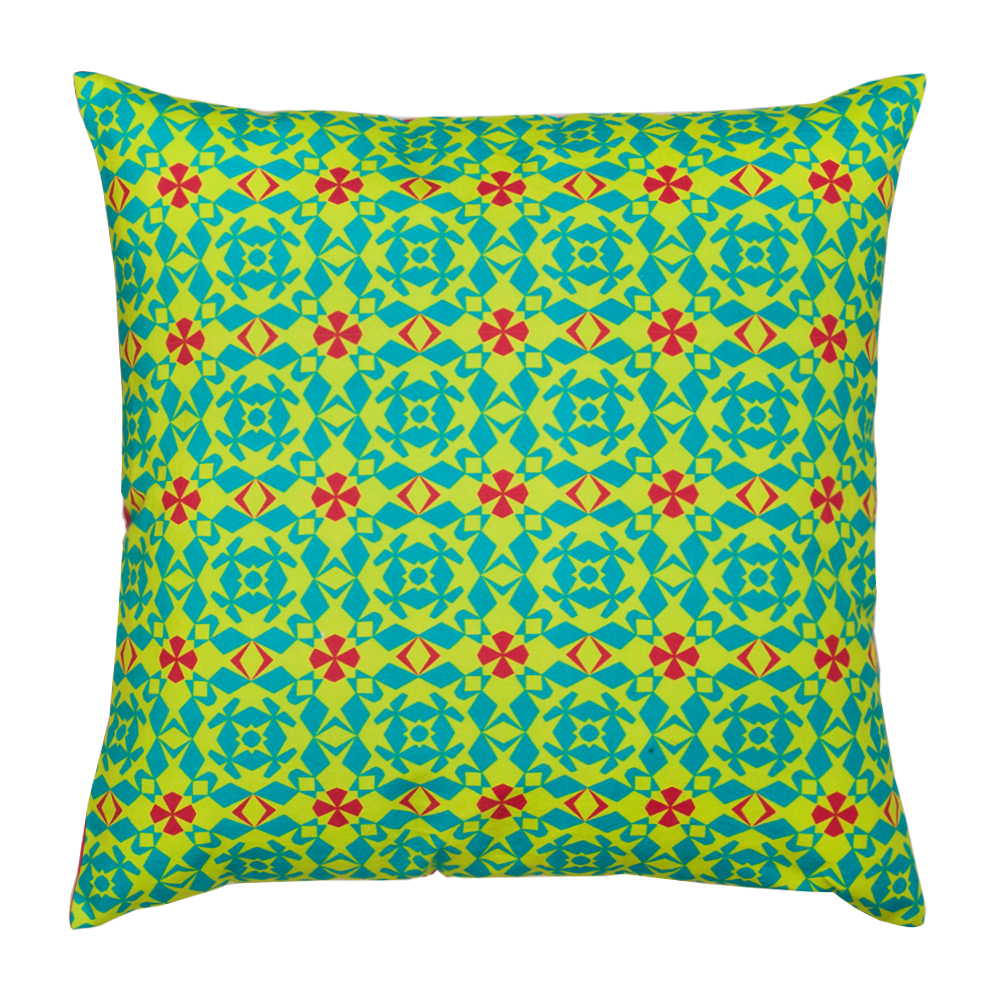 Floral Maze Cushion Cover
