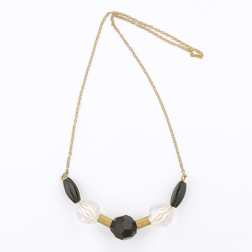 Handcrafted Brass Pipe Chain Necklace