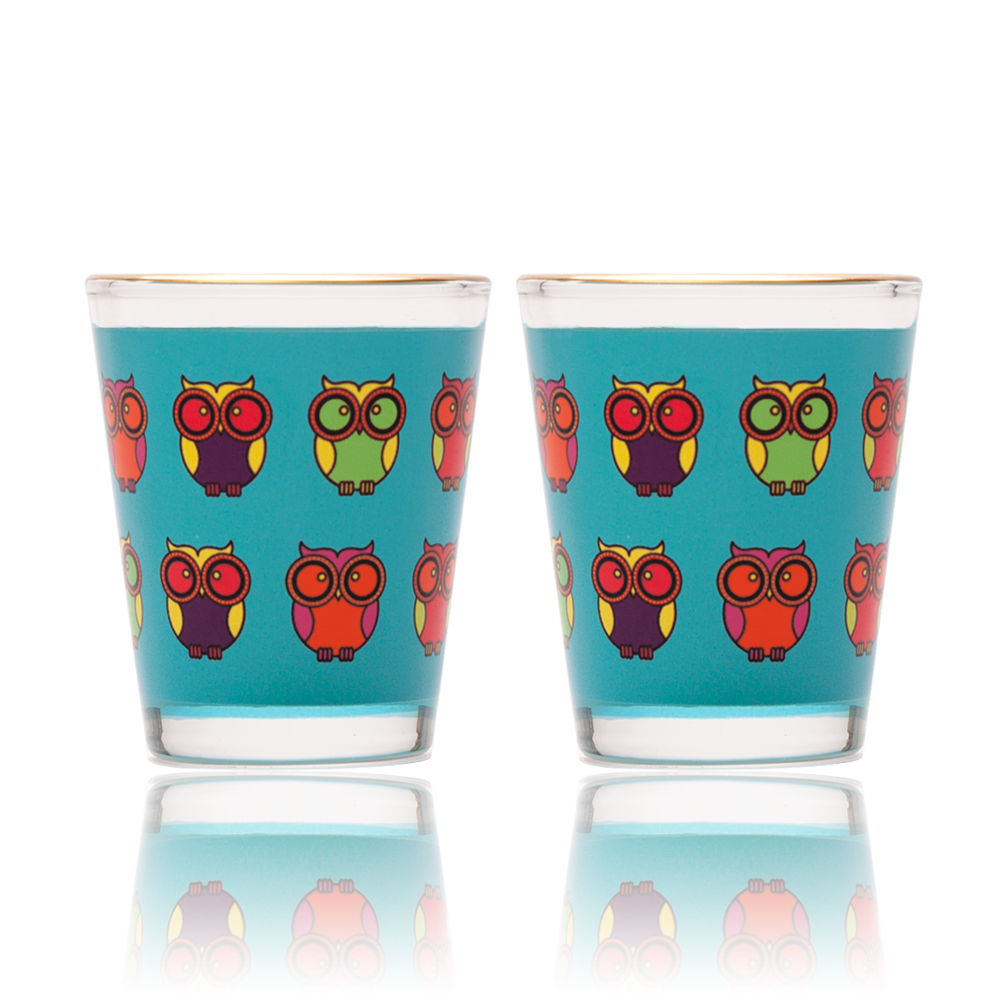 Owl Howl Shot Glass
