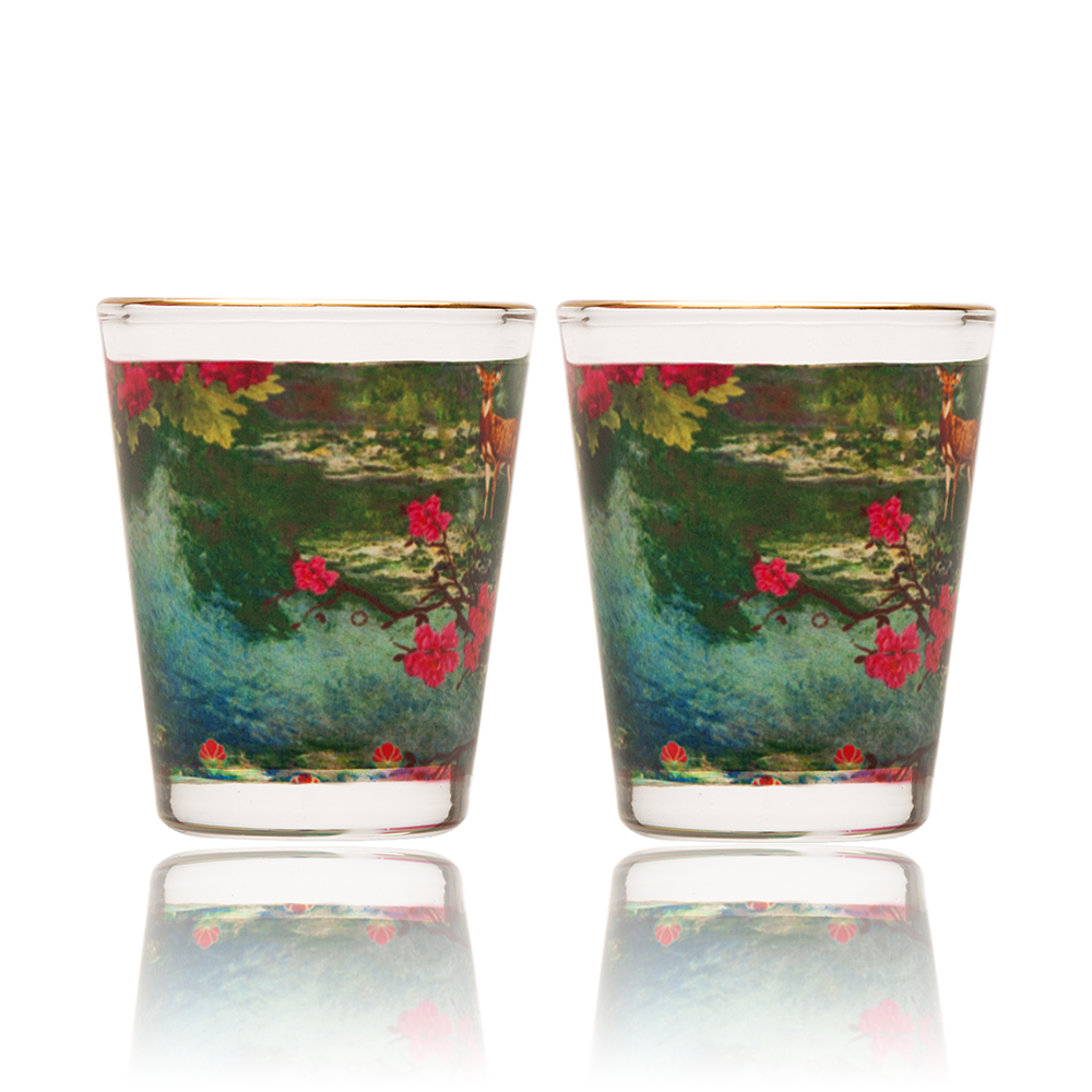 Garden of ShangriLa Shot Glass