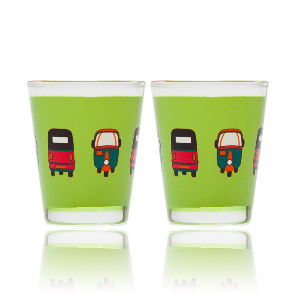 Rickshaw Masti Shot Glass