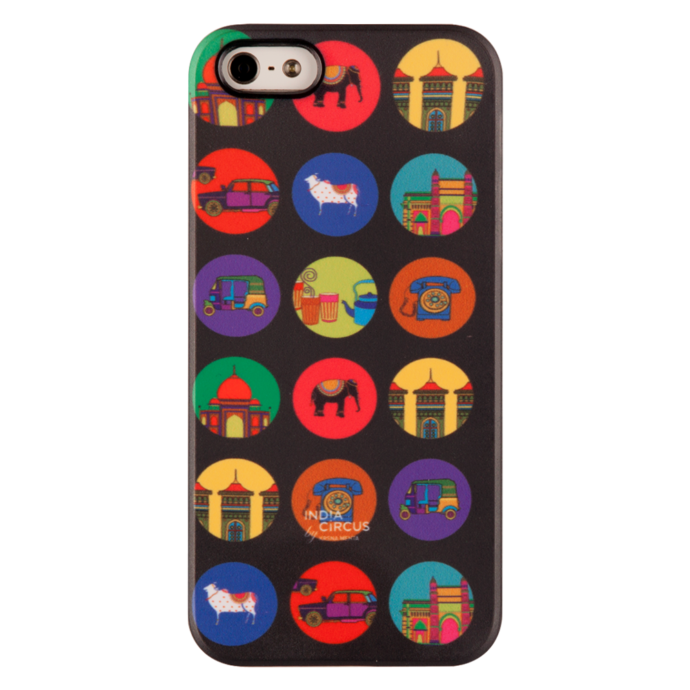 India Vibrant iPhone 5/5s Matte Cover