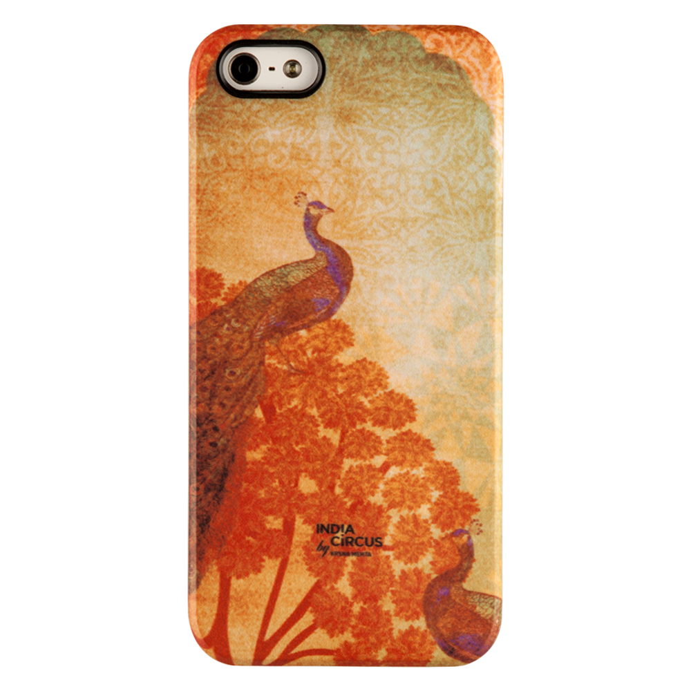 Sunset Peacocks iPhone 5/5s Matte Cover
