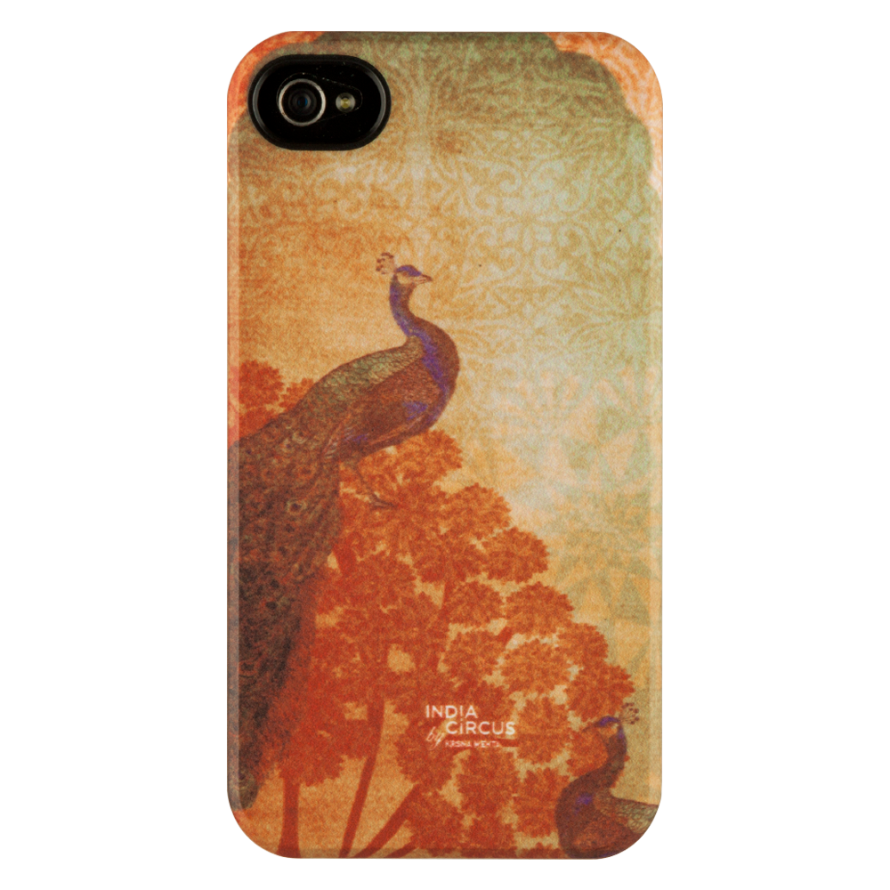 Sunset Peacocks iPhone 4/4s Matte Cover
