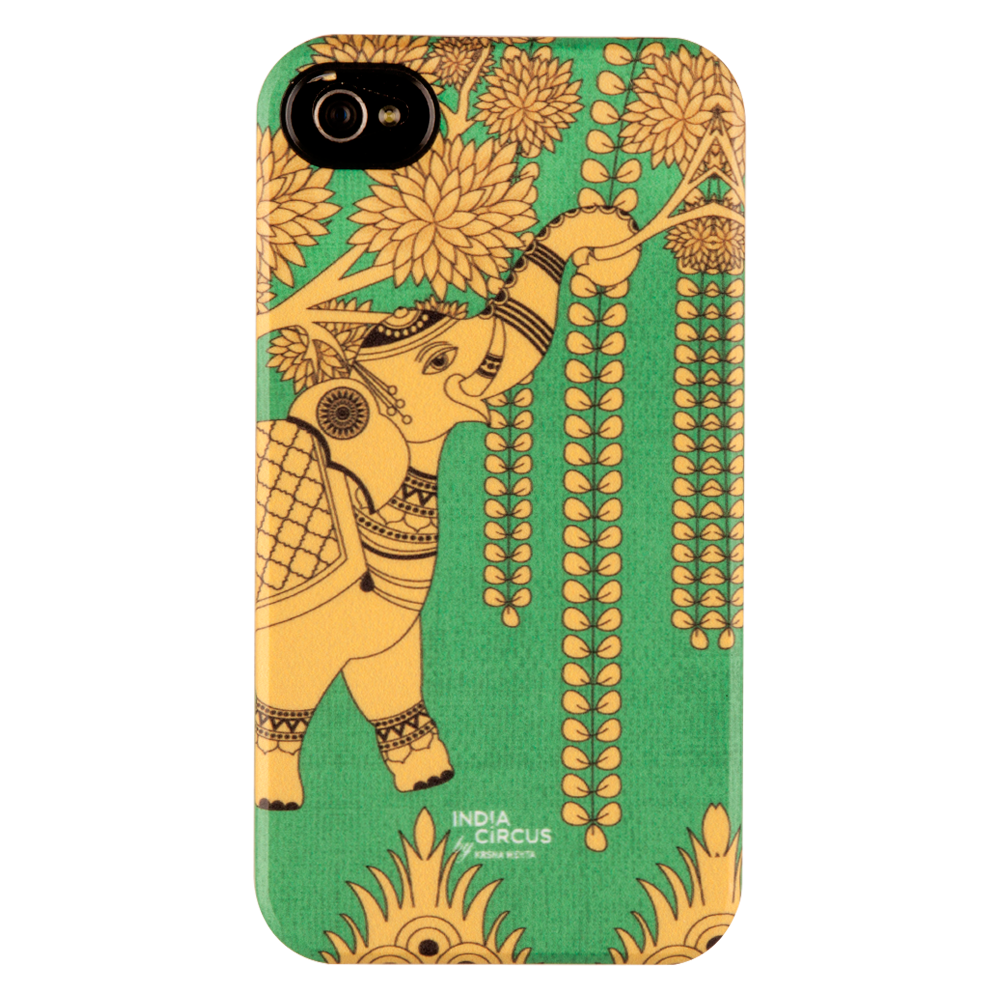 Elephant Grandiose iPhone 4/4s Matte Cover