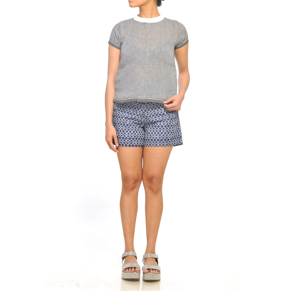 JODI Cotton  Grey T-Shirt