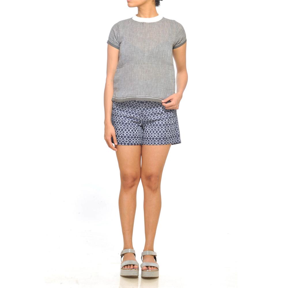 JODI Cotton  Grey T-Shirt