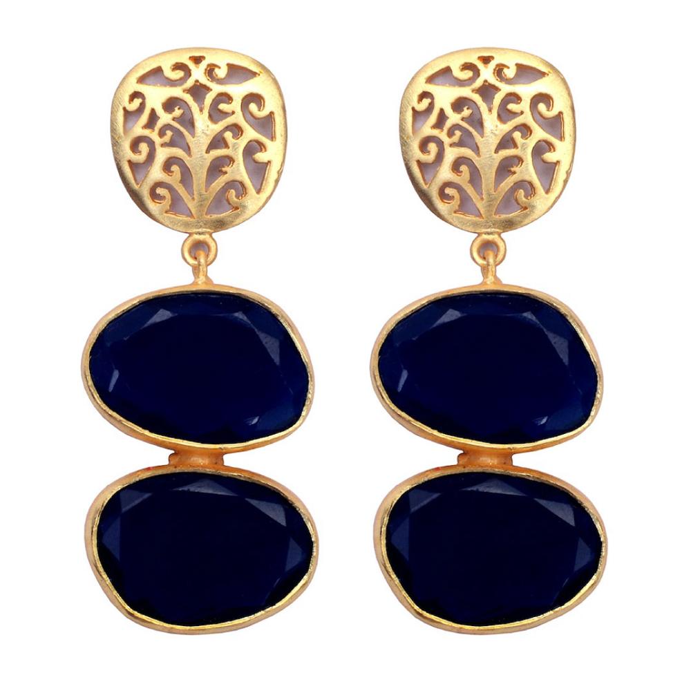 Two Tiered Earrings