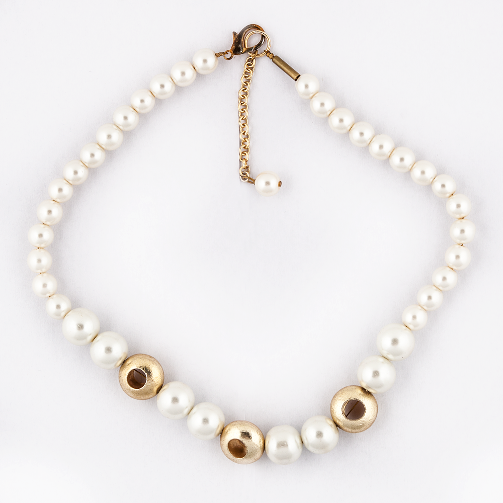 Pearl Swirl Necklace
